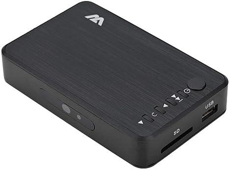 AGPtek® 1080p full HD digitale multimediale TV Media Player con telecomando per