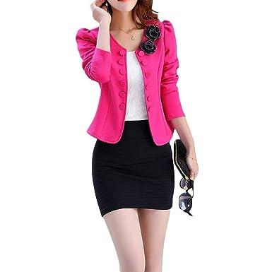 Herbst Jacket Frühling Jungen Anzugjacke Damen Kurz Office H9EDIW2Y