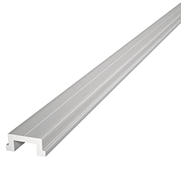 Elegant 48u0026quot; ALUMINUM MITER T BAR By Peachtree Woodworking   PW1034