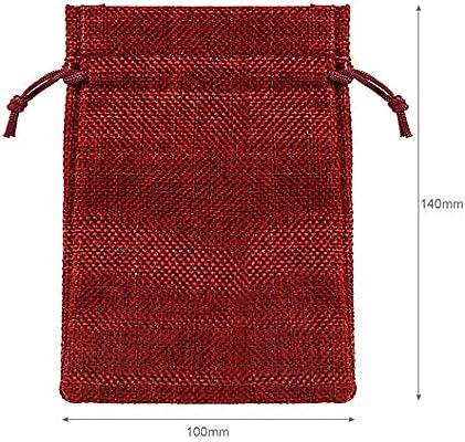 Amazon.com: Naler Bolsas de regalo de Navidad con cordón ...