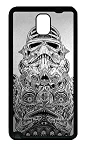 Storm Trooper Art Custom Designer Samsung Galaxy Note 3 / Note III/ N9000 - TPU - Black