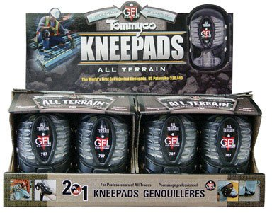Tommyco GEL707 Injected GEL Knee Pads With Snap On/Off All Terrain Cover by Tommyco Kneepads Inc (Image #1)