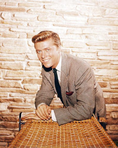 Edd Byrnes 8x10 Promotional Photograph as Kevin Smiley in 77 Sunset Strip classic series (Promotional Classic Series)