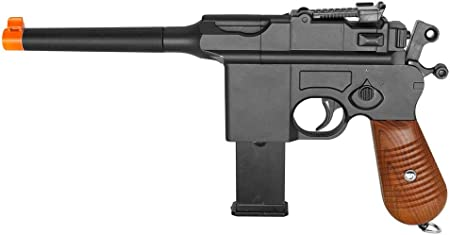 Great for Steampunk mod or Blaster Mod Plastic Mauser Airsoft Pistol 1//1 scale