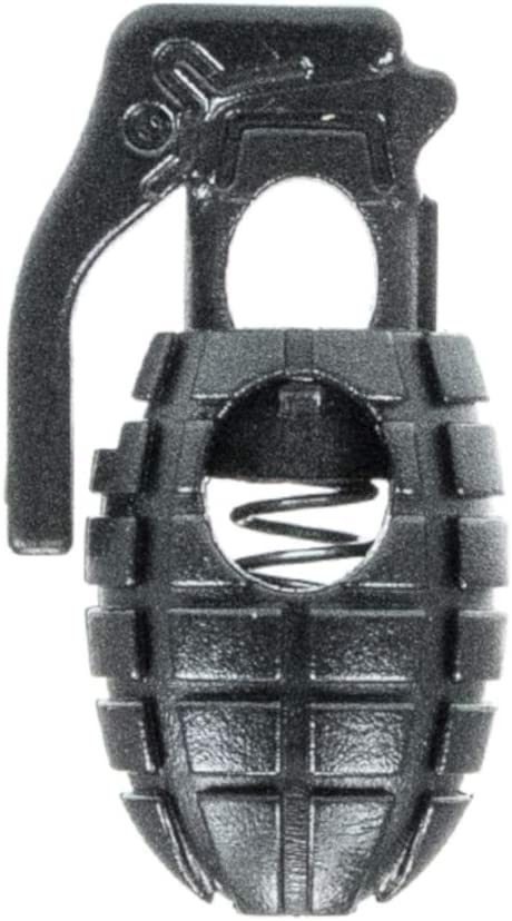 Great for paracord! Grenade Cord Locks