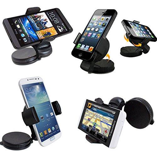 Greenten 360 Rotating Adjustable Windshield Car Phone Mount Stand Holder Kickstand Telefono Celular For Mobile Phone / Tablet /GPS / PDA / PSP/MP3 / MP4 - Telefono Ltd