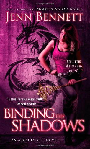 book cover of Binding the Shadows