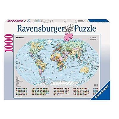 Ravensburger Italy Rav Pzl 1000 Pz Mappamondo Politico 15652 Multicolore 878308