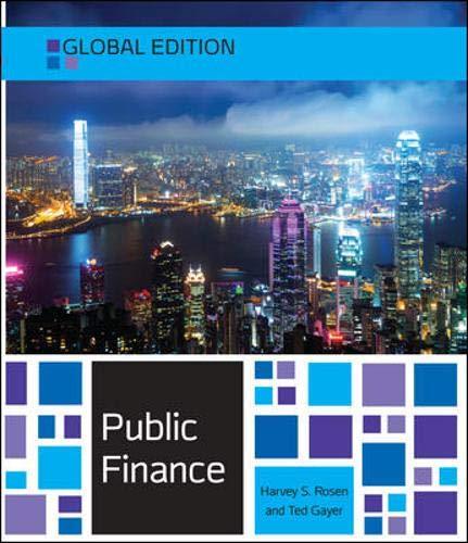 Public Finance: Global Edition