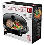 Chefman Electric Skillet-12 Inch Round Frying Pan
