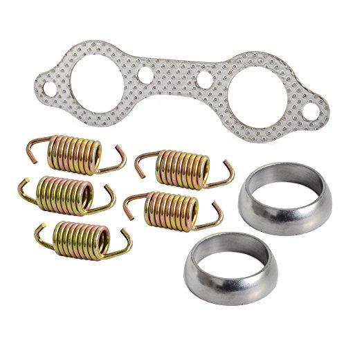 (NICECNC Exhaust Gasket & Spring Rebuild Kit for Sportsman 600 2003-2006,Sportsman 700 Touring X2 2002-2007,Replaces 5811511,3610047)
