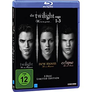 [Amazon] Die Twilight Saga 1 3 [Blu ray] für nur 17,99€ & Die Sopranos   Die ultimative Mafiabox für 52,97€