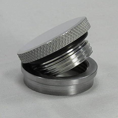 4 PK Alum Cap Alum Bung MADEINUSA! Non Vented Filler Neck Kit o-ring Oil Tank