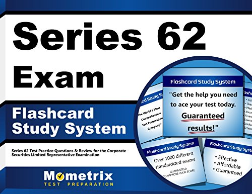 Series 62 Exam Flashcard Study System: Series 62 Test Practice Questions & Review for the Corporate Securities Limited Representative Examination (Cards)
