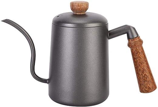 NO BRAND SAYYQ Crisol del Acero Inoxidable, 600 ml de café a Mano ...