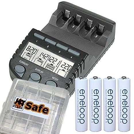 Technoline BC 700 incluye cargador baterías eneloop AAA 4P ...