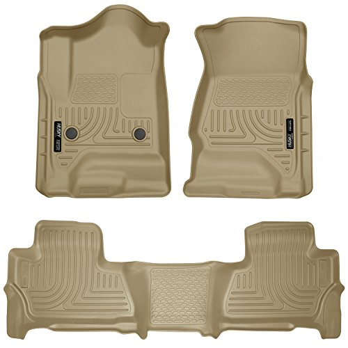 Xl 2nd Seat - Husky Liners Front & 2nd Seat Floor Liners Fits 15-19 Suburban/Yukon XL