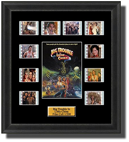 Big Trouble In Little China 1986 Film Cell Memorabilia Filmcells Movie Cell Presentation