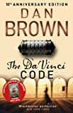 Front cover for the book The Da Vinci Code by Dan Brown