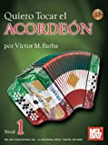 Quiero Tocar el Acordeon Book/CD Set, Victor Barba, 078668304X