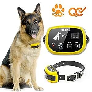 Amazon Com Bearmax Eletric Wireless Dog Fence Upgraded