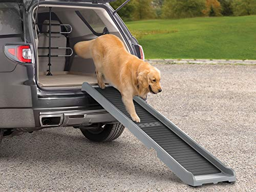 Dog Travel Ramp - WeatherTech PetRamp - High-Traction Foldable Pet Ramp