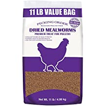 Pecking Order Dried Mealworms, 11 lbs