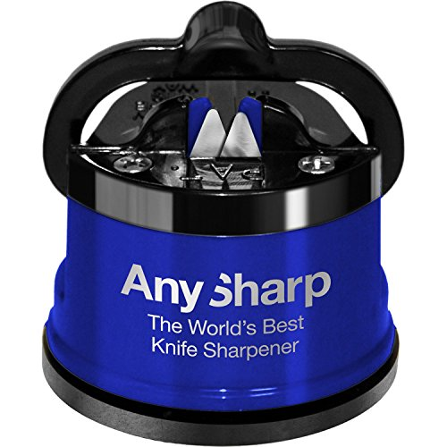 AnySharp Knife Sharpener Metal Royal