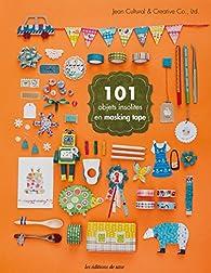 101 objets insolites en masking tape par  Jean Cultural & Creative Co