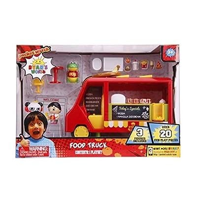 Jada Toys Ryan's World Food Truck Playset: Toys & Games