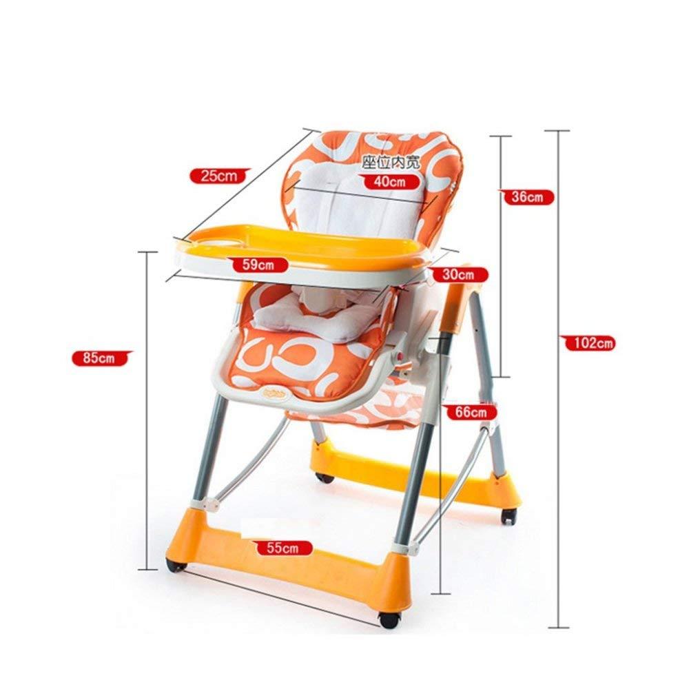 GZ Silla de Comedor para Bebés Silla Multifuncional Que ...