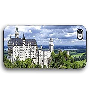 Neuschwanstein Castle Bovaria Germany Diy For Iphone 5/5s Case Cover Armor Phone Case