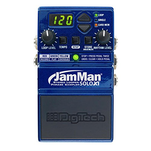 DigiTech Digitech JamMan Solo XT Compact Stereo Looper/Phrase Sampler