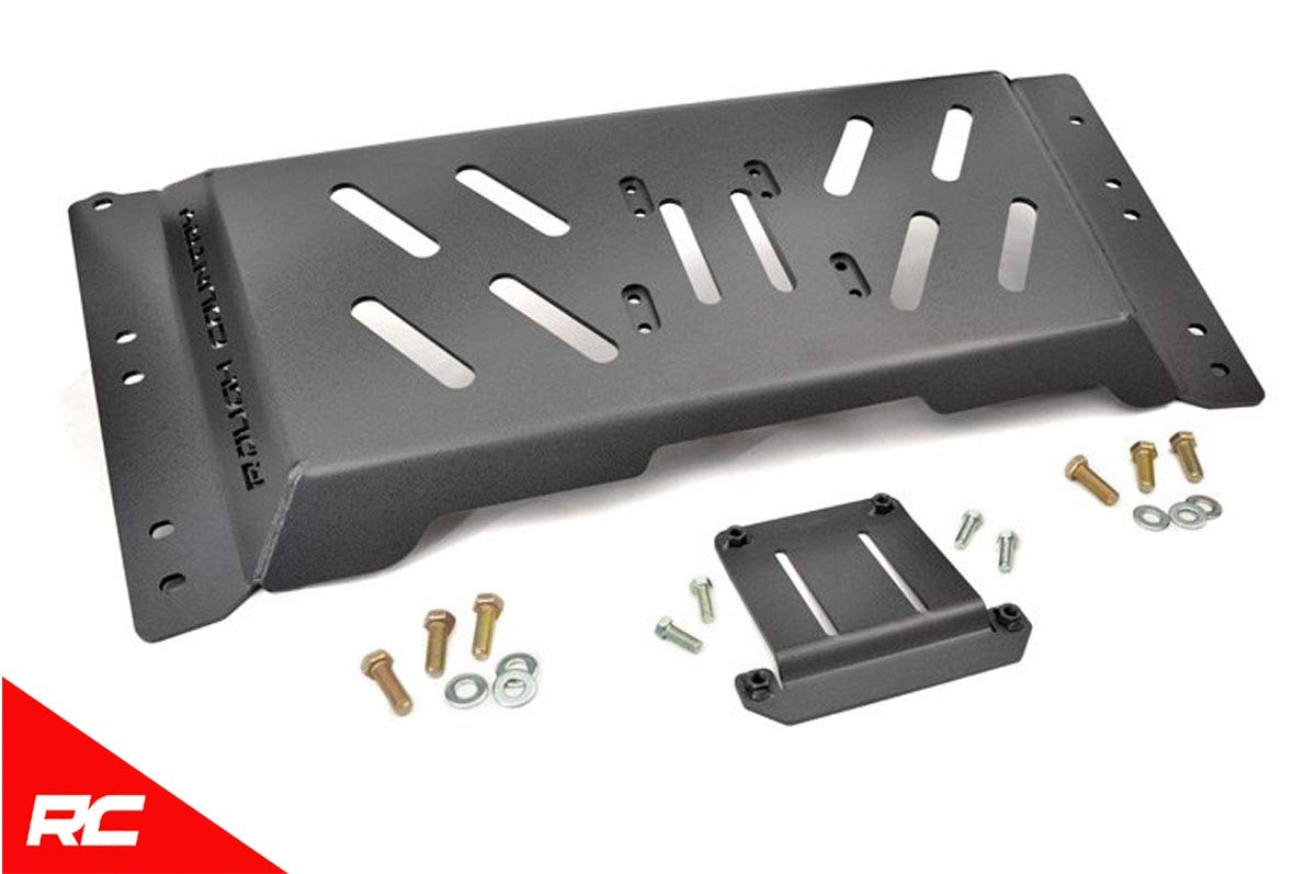 Rough Country Skid Plate Armor Extra Ground Compatible w/ 1997-2006 Jeep  Wrangler TJ 1126