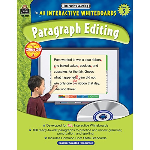 Interactive Learning: Paragraph Editing Grd 3