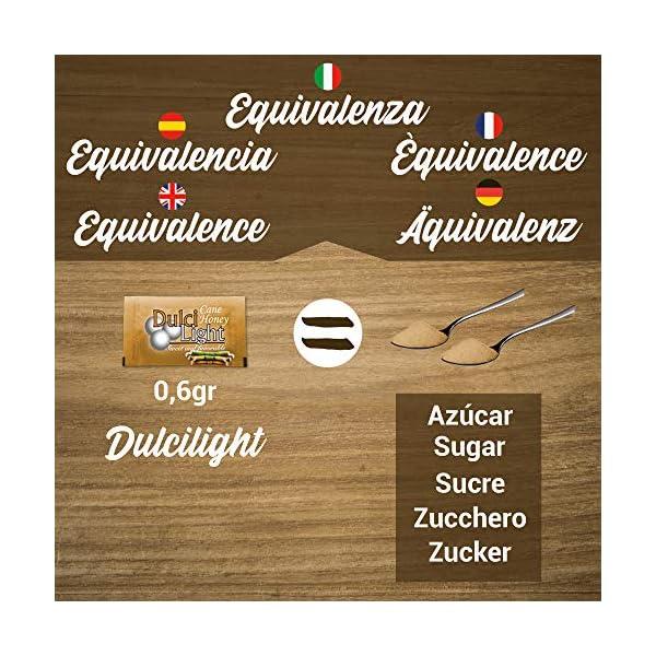 DULCILIGHT CANNA DA ZUCCHERO NATURALE 300 Bustines, DOLCIFICANTE GRANULATO al gusto naturale dello zucchero di canna… 7 spesavip