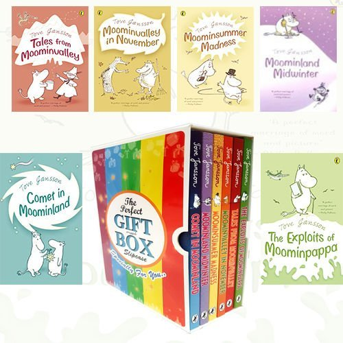 Tove Jansson Moomin Collection 6 Books Bundle Gift Wrapped Slipcase Specially For You