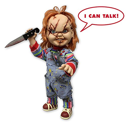 "Child's Play Chucky doll 15"" Talking Mega Scale"