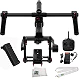 DJI Ronin-MX 3-Axis Gimbal Stabilizer Bundle. Includes Manufacturer Accessories + SSE Transmitter Lanyard + Microfiber Cleaning Cloth