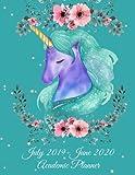 July 2019-June 2020 Academic Planner: Beauty