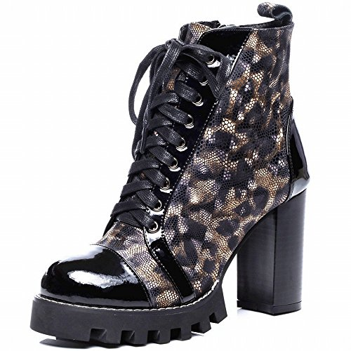 SHOEES Zapatos de con Pi Grandes de Gruesos Martin Impermeables Occidental Los Forman Las Gruesos Zapatos Atractivos Botas Estilo Li rRxwqErfyZ