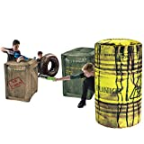 BUNKR BKR-3244 Battle Royale Inflatable Battlezone Pack (4 Piece)