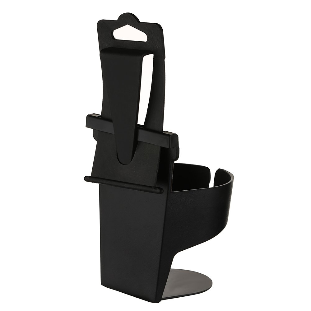 WarmCare Universal Car Cup Holder Adapter Expands Adjustable Hold Drink Water Bottle Mug Headrest Seat Back Organizer Auto Mount 2pcs Black
