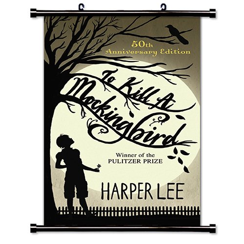To Kill a Mockingbird  Fabric Wall Scroll Poster  Inches