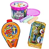 MISC Jump Rope, Chalk, and Pogo Jumper Outdoor Fun Toys for Kids