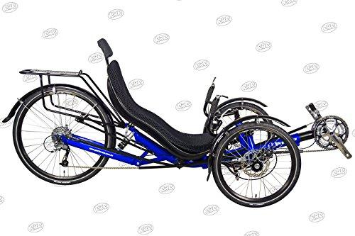Performer JC26X Recumbent Trike 27S FRP (Blue)