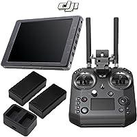 DJI CrystalSky 7.85 Ultra Bright Monitor & DJI UAV Cendence Remote Combo Includes Spare Battery, Charging Hub & Magnetic DJI Lapel Pin