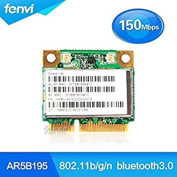 ARBUYSHOP Atheros AR5B195 inalámbrica WiFi Bluetooth ...