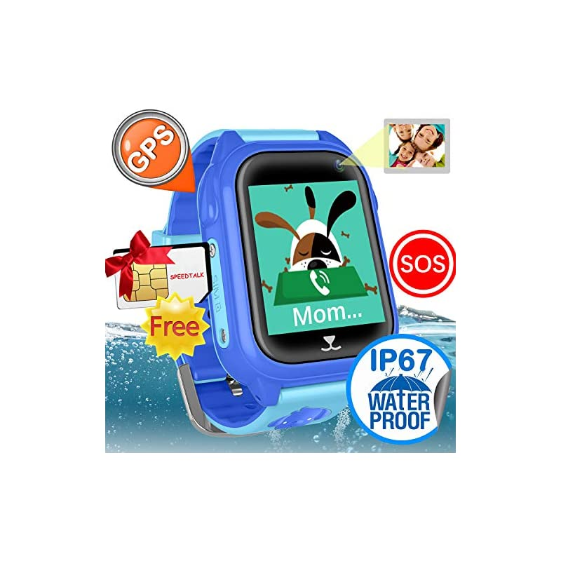 iCooLive Waterproof IP67 Kids Smart Watc