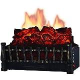 Comfort Glow ELCG251 - Inserción de Registro eléctrico, Calentador y Caja de Fuego (5,120 BTUs)